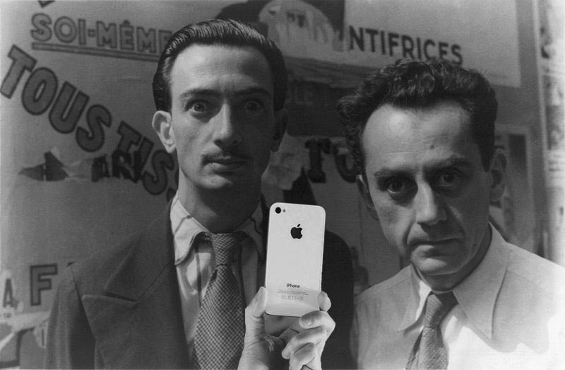 Man Ray e Salvador Dalì